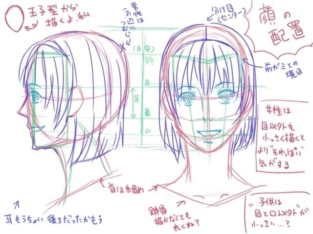 人間の描き方16