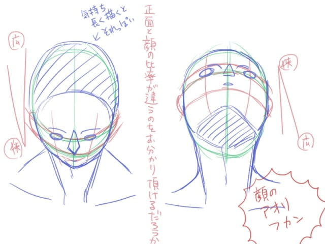 人間の描き方19