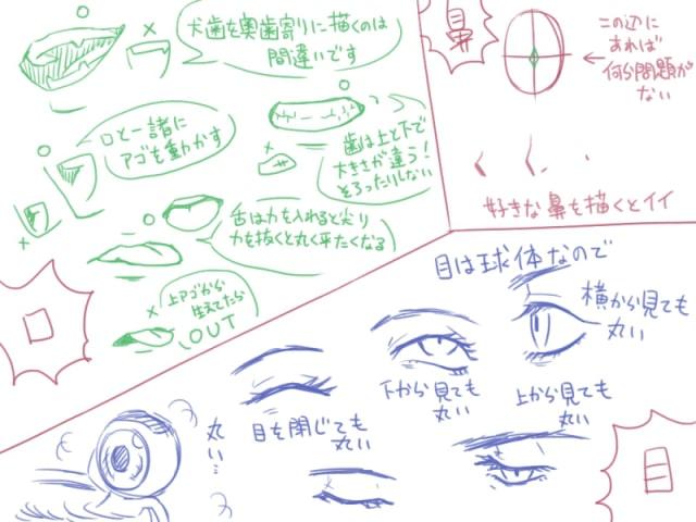 人間の描き方20