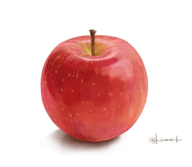 りんごの描き方8