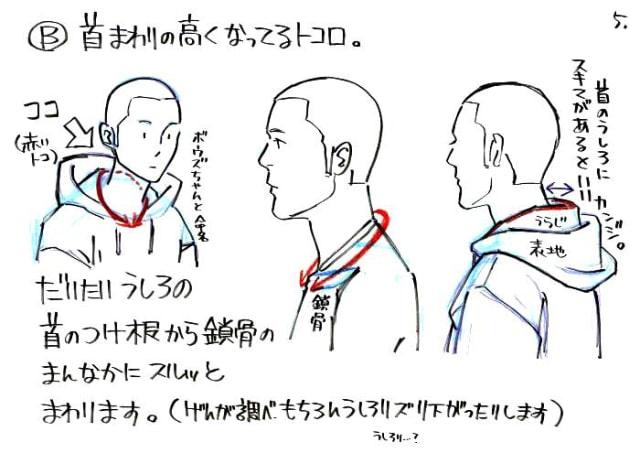フードの描き方5
