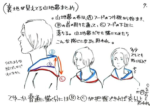 フードの描き方7