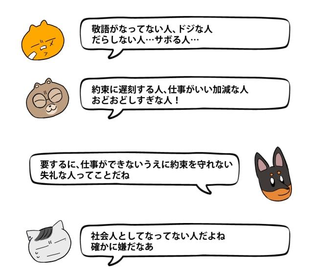 「キライ」からキャラクターをデザイン7