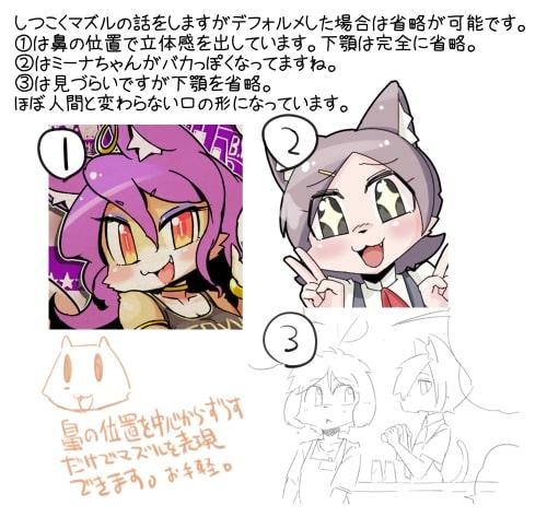 獣人の描き方9
