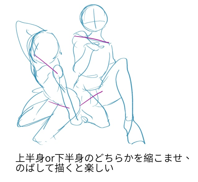 楽しい体の描き方2