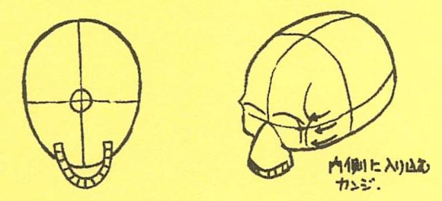 骸骨の描き方7