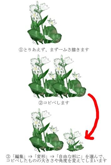 花畑の描き方1