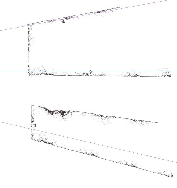 クリスタ背景ブラシで壊れた建物を描く3