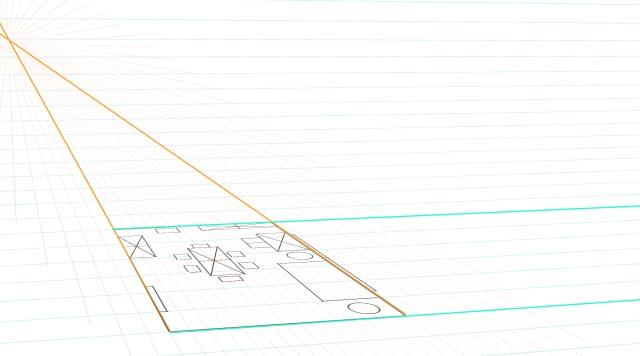 部屋の描き方3
