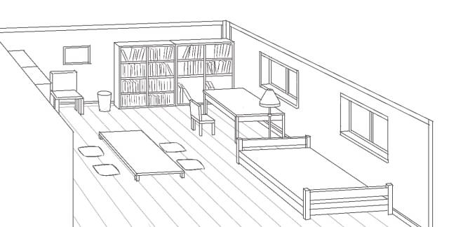部屋の描き方7