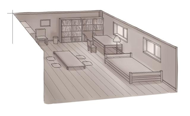 部屋の描き方8