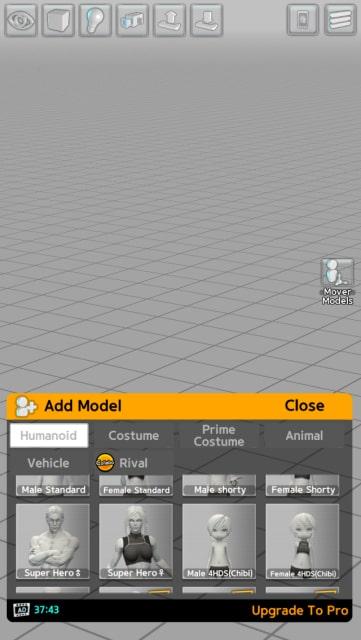 Add Modelのポップアップ