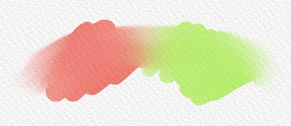 Blendツールで絵の具を混ぜる