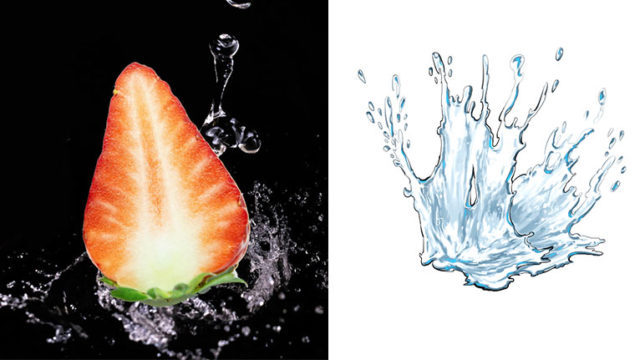 【Photoshop簡単講座】リアル&イラストタッチの水しぶきの描き方