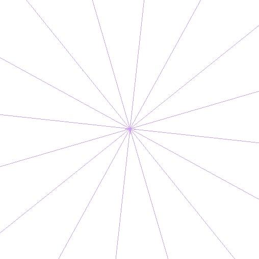キャンバスに対称定規を設定する