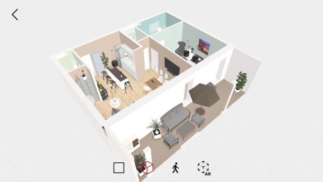 インテリアを配置。部屋の作画に役立つアプリ「Roomle」