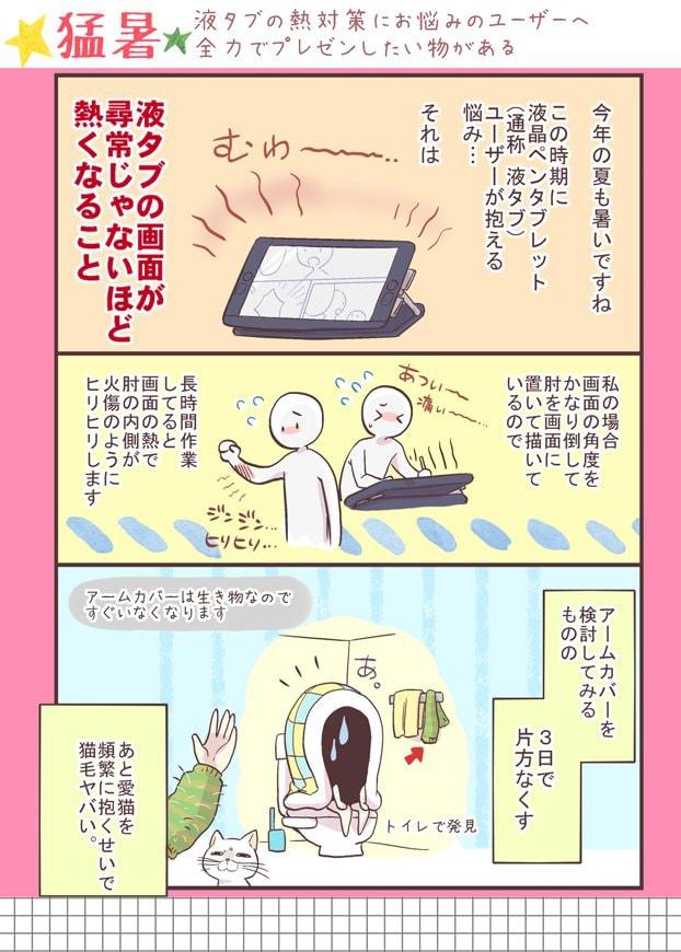 プレゼン漫画1ページ目