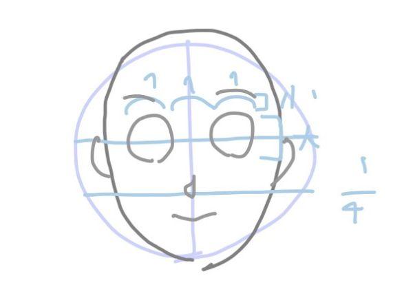 パルミー初心者講座正面の顔アタリ