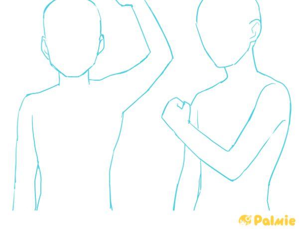 パルミー初心者講座人体の描き方
