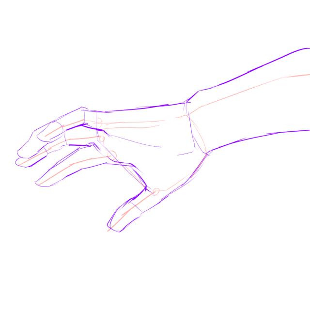 手のデッサン04