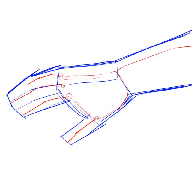 手のデッサン03