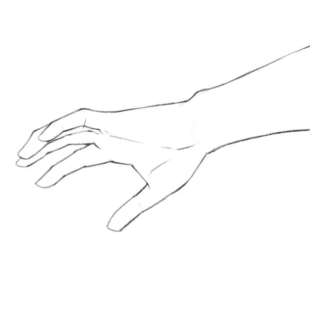 手のデッサン05