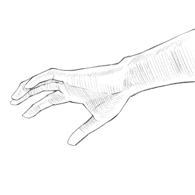 手のデッサン06