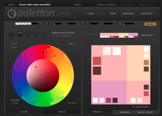 Palettonで配色を作る