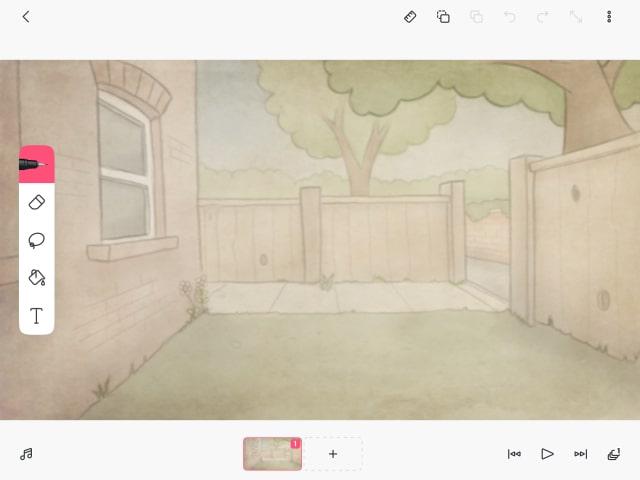 FlipaClipの画面