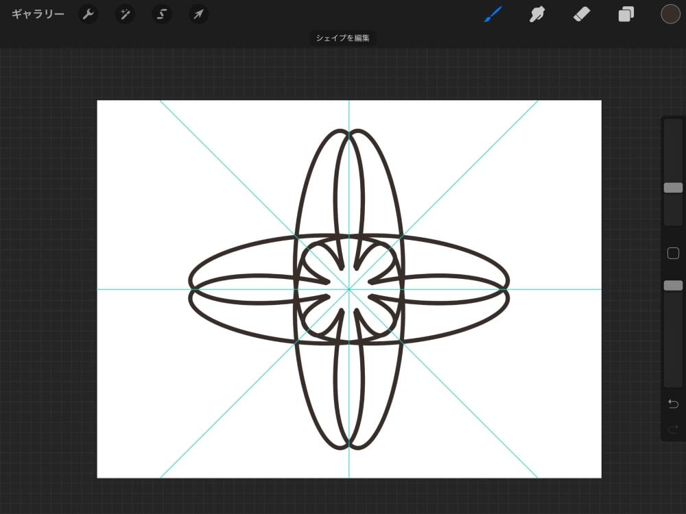 幾何学的な模様1