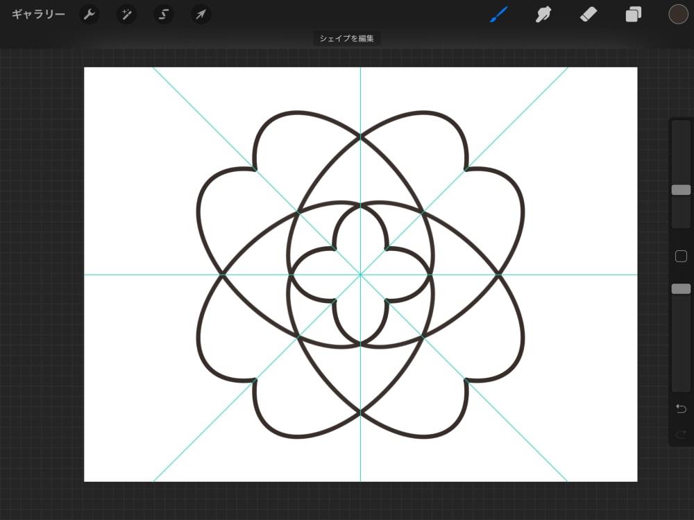 幾何学的な模様2
